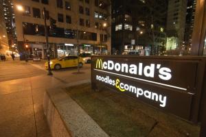 Mc Donald's noodles & comapany