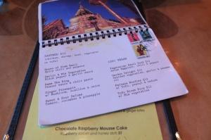 Pocztówkowe menu