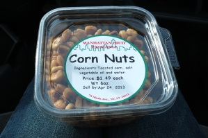 Prażone ziarna kukurydzy