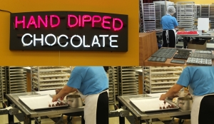 Hand dipped chocolate