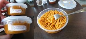 Hummus z dyni piżmowej