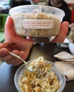 Sałatka z quinoa i cieciorki