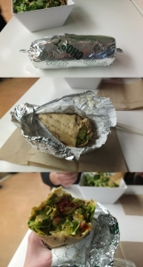 Sandwich z sałatką