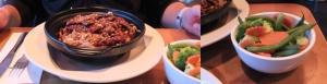 Ryż z wołowiną i dodatkowa porcja warzyw gotowanych na parze