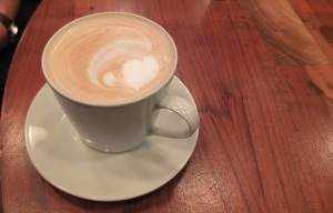 Latte z sercem
