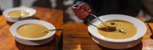 Zupa krem z kluskami