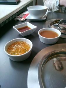Sos sojowy, ostry z papryczką chilli i orzechami, tamaryndowy