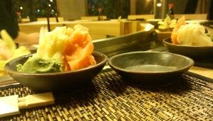 Imbir i wasabi