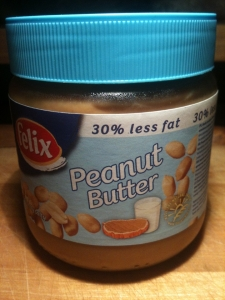 Masło orzechowe o obniżonej zawartości tłuszczu